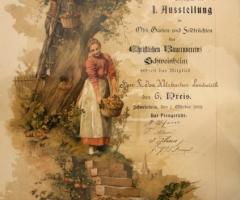 Urkunde Bauernverein Josef Welzbacher