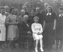 Weber Annemarie Kommunion 1945