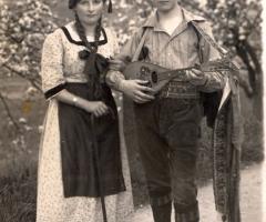 Weigand Josefine und Karlheinz Schmitt Ingenieur bei Güldner Foto 19200502