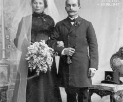 Zahn Karl und Anna Hochzeit