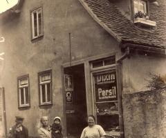 Kolonialwaren Rickert Ebersbacher Str um 1930