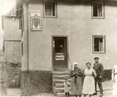 Lebensmittelgeschäft Franz Paul um 1925
