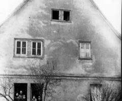Milchsammelstelle Franz Josef um 1950