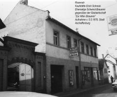 Rosenstr Kaufstätte Schreck Arnold 1978