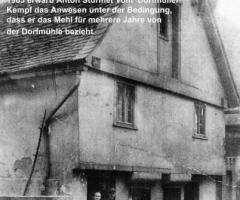 Bäckerei Stürmer Rosengasse um 1903
