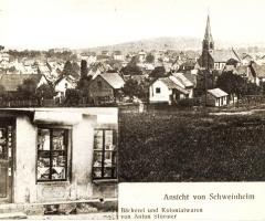 Bäckerei Stürmer Rosengasse 2 Postkarte