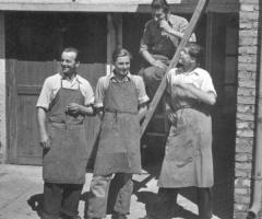 Schreinerei Englert um 1950