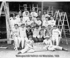 Malergeschäft Helfrich 1928 Würzburger Str Herrleinstr