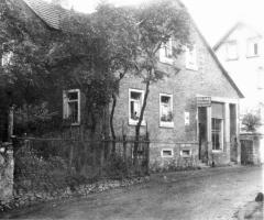 Metzgerei u. Wirtschaft Appelmann später Sandt Bischbergstrasse 1930