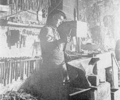 Schmiede Zahn Karl um 1930