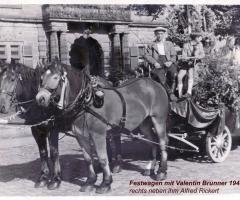 Brunner Valentin Unterhainstr Festwagen 1944