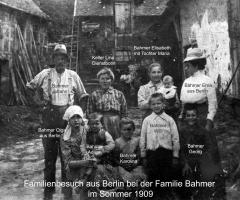 Elterhof Bahmer Besuch aus Berlin 1909