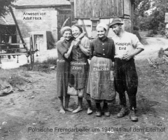 Elterhof Bahmer Fremdarbeiter 1940