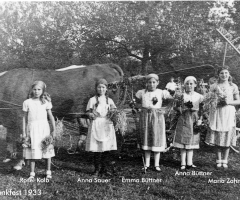 Erntedankfest um 1933