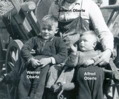 Oberle Johann Sodener Str mit Alfred Werner 1932