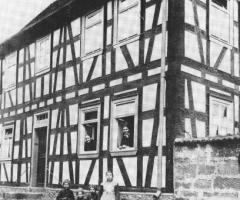 Rücker Seebornstr Rosengasse 1900