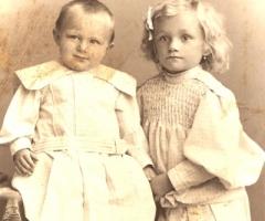 Hirsch Otto und Gustl Aumühle 1907