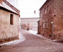 Dorfmühle 1958 Hensbachstrasse