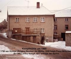 Dorfmühle 1965 Hensbachstr