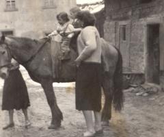 Eichmühle Kinderspass 1954
