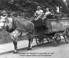 Krugmühle Brotwagen 1937