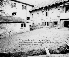 Krugmühle Rückseite 1968