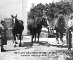 Miltenberger Mühle Besitzer Robert u. Emilie 1960