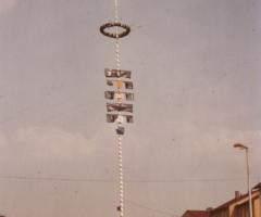 Maibaumaufstellung 1980