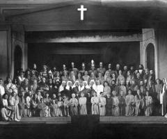 Gruppe Darsteller Passionsspiele 1951