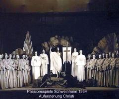 Passionsspiele 1931-34 Auferstehung Christi