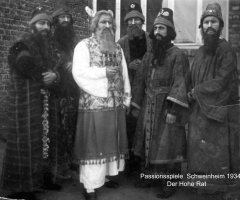 Passionsspiele 1931-34 Der Hohe Rat