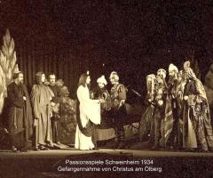 Passionsspiele 1931-34 Gefangennahme Jesu