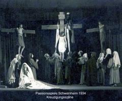 Passionsspiele 1931-34 Kreuzigungsszene