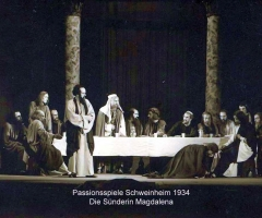 Passionsspiele 1931-34 Sünderin Magdalena