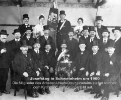 Arbeiterunterstützungs-Verein Josefstag 1900