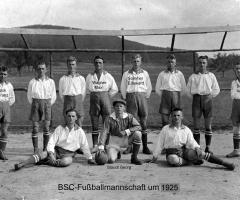 BSC Fußball-Mannschaft 1925