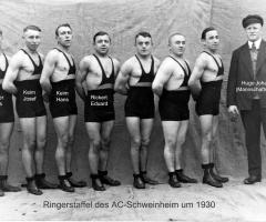 AC Germania Ringerstaffel um 1930