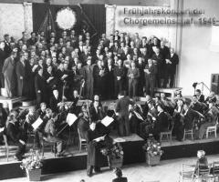 Chorgemeinschaft Frühjahrskonzert 1949