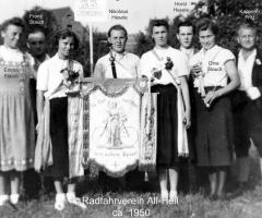 Radfahrverein All-Heil Mitglieder 1950