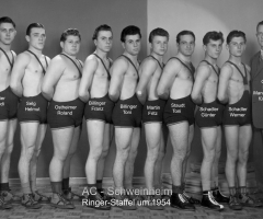 AC Germania Ringerstaffel um 1954