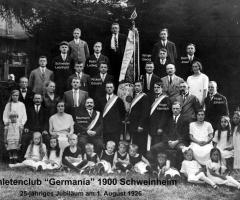 AC Germania 25-jähriges Jubiläum 1926