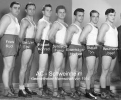 AC Germania Gewichtheber-Mannschaft 1956