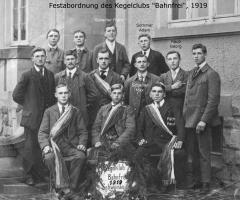 Kegelclub Bahnfrei Gründung 1919