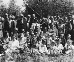 Kolpingsfamilie Ausflug um 1955
