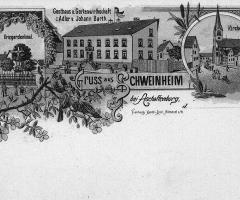 Ansichtskarte Gasthaus Adler