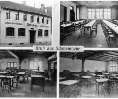 Ansichtskarte Gasthaus Ratsstube Marienstr