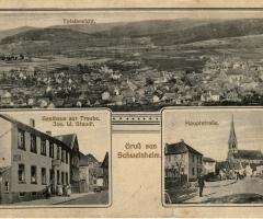 Ansichtskarte Gruss aus Schweinheim