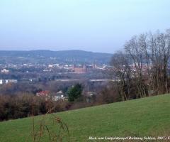 Bischberg Blick Richtung Schloss