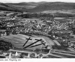 Schweinheim Luftaufnahme