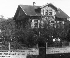 Althohlstr 23 Amersbach 1918